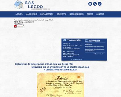 Macon Chatillonnais - LECOQ (SAS) :...
