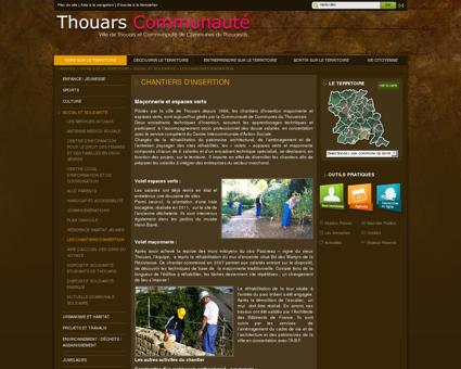 Thouars Communauté - Les Chantiers d'insertion