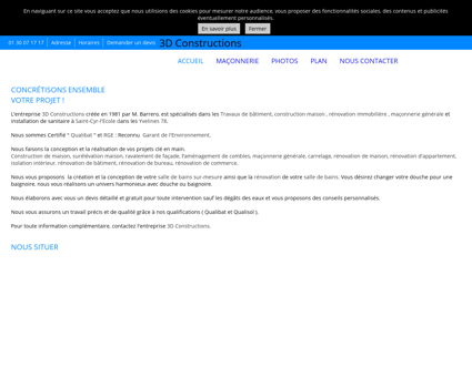 Maçonnerie (entreprises) - 3D Constructions à...