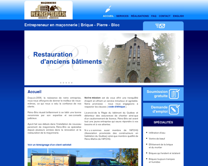 Reno-Brix entrepreneur maçonnerie renovation...