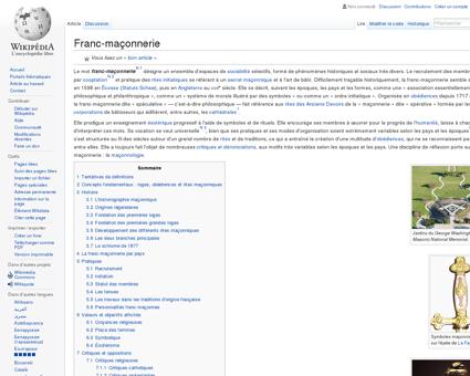Franc-maçonnerie  Wikipédia
