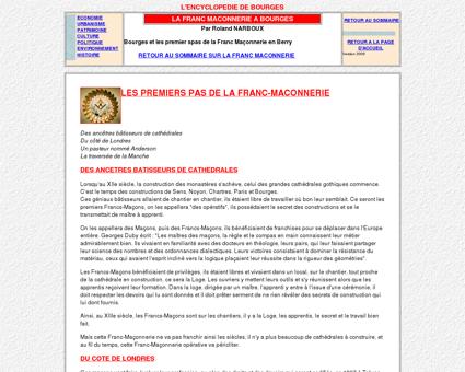 La franc-maçonnerie a Bourges - Roland...