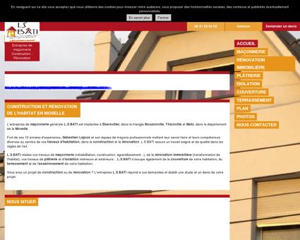 Entreprise du bâtiment prés de Metz
