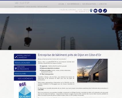 Entreprise de batiment Dijon - SBTP (SOCIETE...