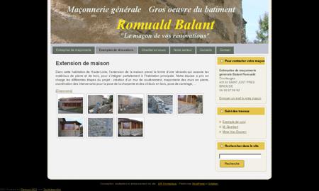 Extension de maison - véranda en pierres :...