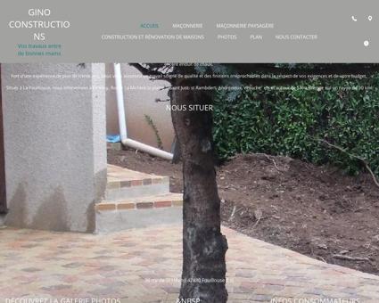 Maçonnerie (entreprises) - Gino Constructions à...