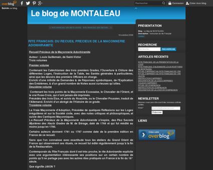 RITE FRANCAIS: DU RECUEIL PRECIEUX DE LA...