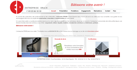 Construction maison Saint-Quentin....
