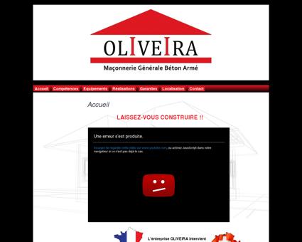 Maçonnerie OLIVEIRA maçon neuf restauration...