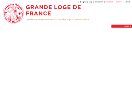 Franc-Maçonnerie en Grande Loge De France -...