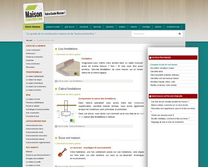Maçonnerie : fondation sous-sol et planchers -...