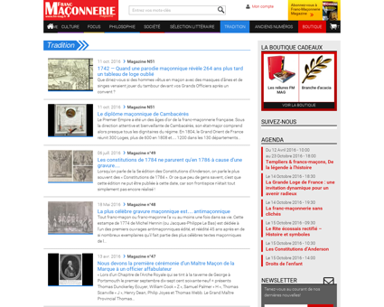 Tradition - Franc Maçonnerie Magazine | Tout...