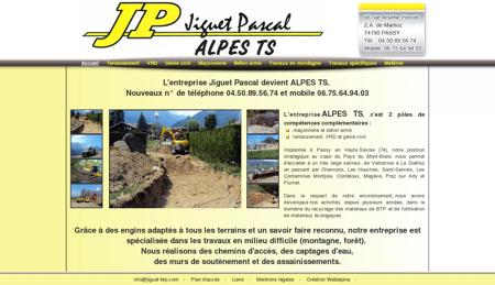 ALPES TS Jiguet Pascal terrassement...