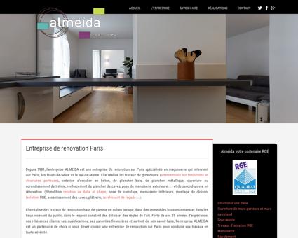 Rénovation, maçonnerie Paris - Entreprise...
