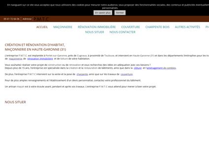 PMTC maçonnerie, rénovation à Portet-sur...