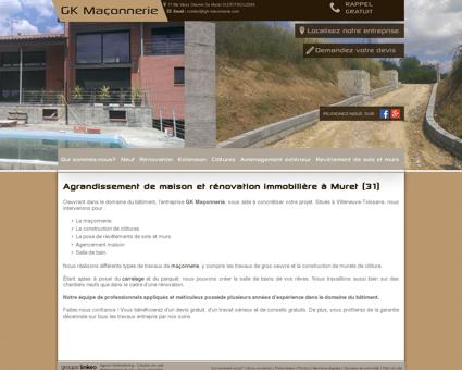 Terrassement, maçonnerie  Tournefeuille | GK ...