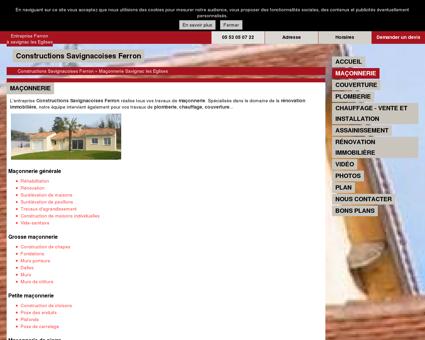 Maçonnerie Savignac-les-Eglises Dordogne (24)