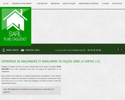 Maconnerie Le Mans - SARL PLAIS DAGUENET...