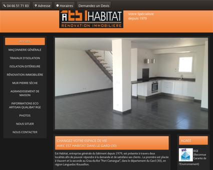 Est Habitat, maçonnerie générale à Vauvert et...