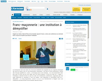 Franc-maçonnerie : une institution à démystifier...