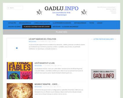Planches | GADLU.INFO - Actualités Franc...
