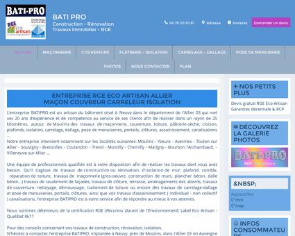BATIPRO - Artisan - RGE - Maçon - Couvreur -...