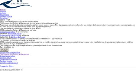 DM Construction Toiture & Maçonnerie 0...