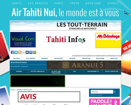 La Grande Loge Maçonnique régulière de Tahiti...