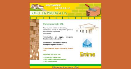 SARL Vincent et Fils - Entreprise de Maçonnerie...