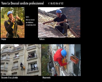 Yann Le Doussal cordiste professionnel