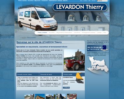 Thierry LEVARDON - Couverture - Maçonnerie -...