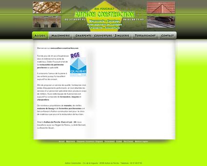 Authon Construction - Maçonnerie, charpente,...