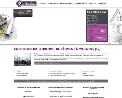 Maçonnerie Migennes - MIGENNOISE DE...