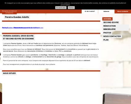 Pereira-Guedes - Entreprise de maçonnerie à...
