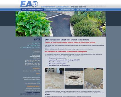 EATP : Terrassement Maconnerie paysagère...