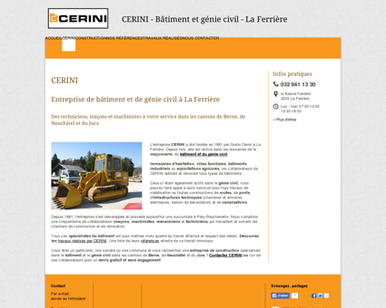 Cerini Guido & Cie - CERINI - La Ferrière