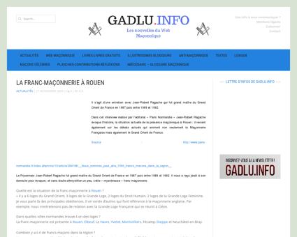 La Franc-Maçonnerie à Rouen | GADLU.INFO -...