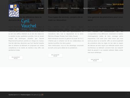 Maçonnerie rouen, Vauchel Cyril 76,...