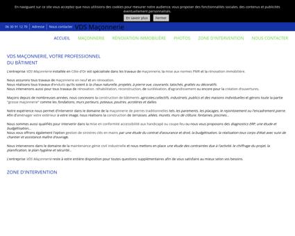 Accueil - VDS Maçonnerie à Auxonne - Côte...