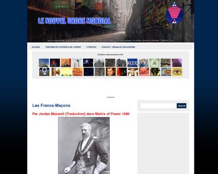 Les Francs-Maçons | Le Nouvel Ordre Mondial
