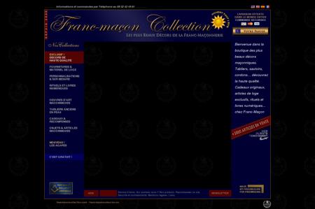 Franc-macon Collection. Les plus beaux décors...