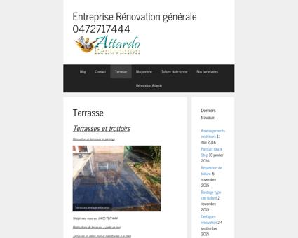 Entreprise générale rénovation 0472717444