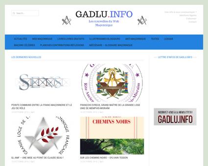 GADLU.INFO - Actualités Franc-Maçonnerie...