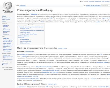 Franc-maçonnerie à Strasbourg  Wikipédia