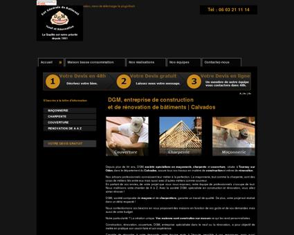 DGM  Entreprise de bâtiment à Caen,...