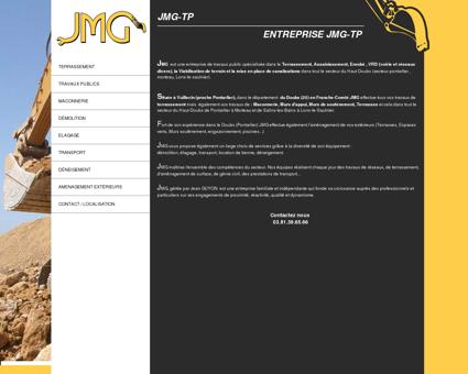 JMG TP :Terrassement - Maconnerie - Travaux...