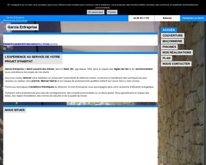 Maçonnerie - Saint-Laurent-des-Arbres - Gard...