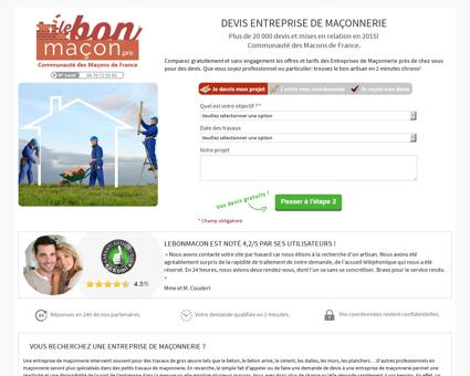 Maçonnerie Les Lilas - Recherche Entreprise Maçonnerie...