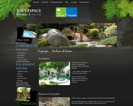 Création de fontaine, bassin et cascade de jardin