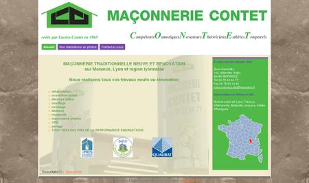 Maçonnerie CONTET - Lyon Morancé